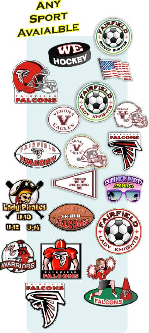 School Booster club fundraising car magnets & decals